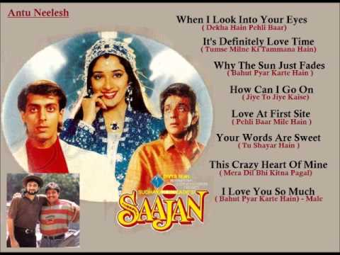 Saajan (1991) Songs In English Full Songs Juke Box (click On The Song) video