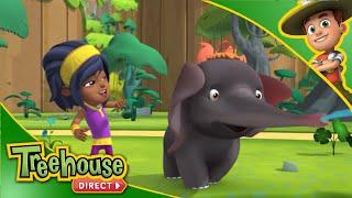 Ranger Rob Clips! | Playful Elephants | New Show on Treehouse!