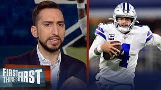 Cowboys are a talented team that can't beat anybody with 75% their talent | NFL | FIRST THINGS FIRST