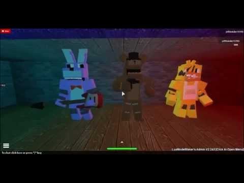 Roblox five nights at freddy song