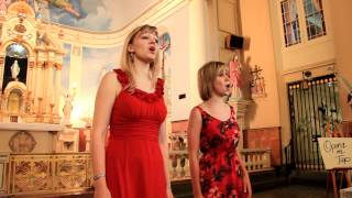"Bon Operatit! Sings ""The Flower Duet"" at French Quarter Festival"