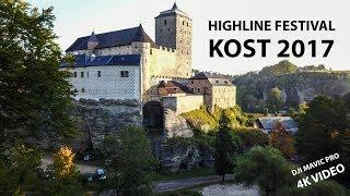 KOST HIGHLINE FESTIVAL 2K17 /// DRON VIDEO // DJI MAVIC PRO / 4K