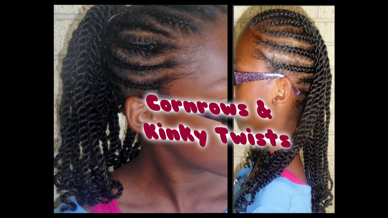 203 Child Hair Care Cornrow Amp Kinky Twists W Extensions