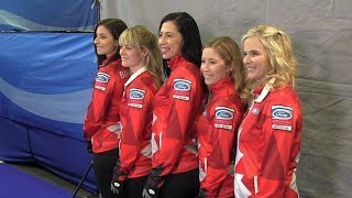 Jill Officer 'energized' for final curling world championship