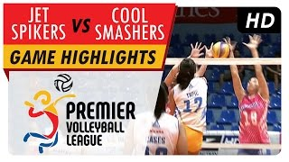Jet Spikers vs Cool Smashers | Game Highlights | PVL ROUND 1 | May 4, 2017