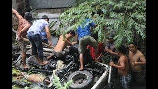 Toàn cảnh giải cứu xe ô tô rớt cầu Hàm Luông/Khám phá miền Tây