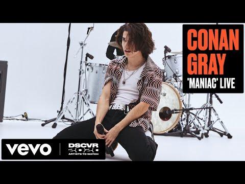 Conan Gray - Maniac (Live) | Vevo DSCVR Artists to Watch 2020