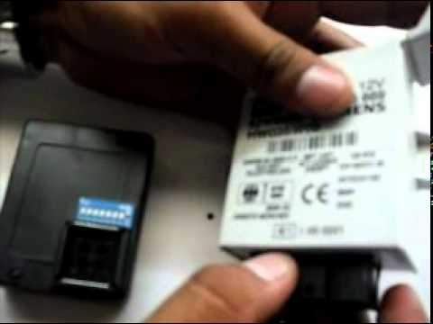 Tip-use interface  Abrites Programmer EWS.   Applied to an immobilizer  BMW type EWS 2. 3 and 3 +.