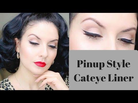 Easy PinUp Cateye Eyeliner: Step by Step   Nena Moreno