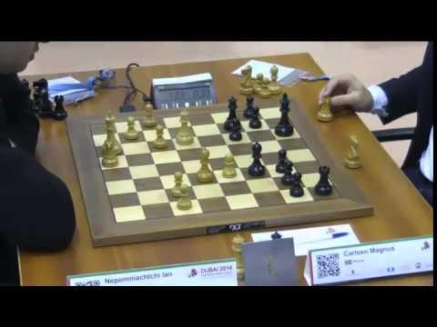 Nepomniachtchi vs Carlsen - 2014 World Blitz Championship