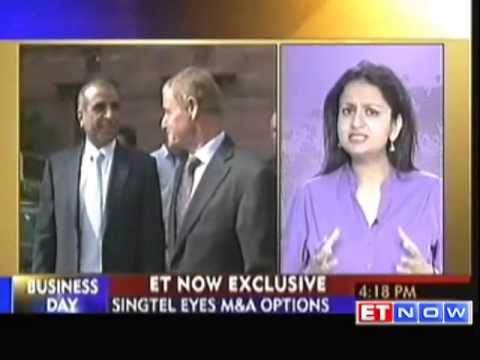 SingTel eyes M&A in India via Bharti Airtel
