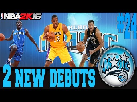 NBA 2K16 ORLANDO MAGIC MY GM MODE EP.24 - DWIGHT HOWARD AND RUDY GAY DEBUT!!!