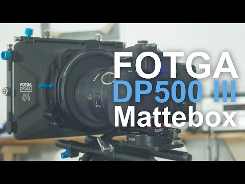 FOTGA DP500 III Mattebox REVIEW - can it hold up with the System?