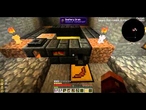 Blood and bones minecraft modpack survival - episode 02 - Tinkers comme un boss