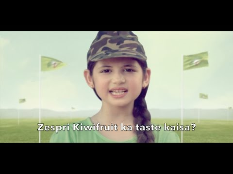 Zespri Kiwifruit India TV Commercial 2016