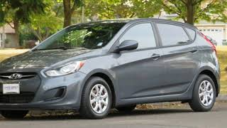 2012 Hyundai Accent GS Hatchback GREAT MPG! EZ Financing! for sale in PORTLAND, OR