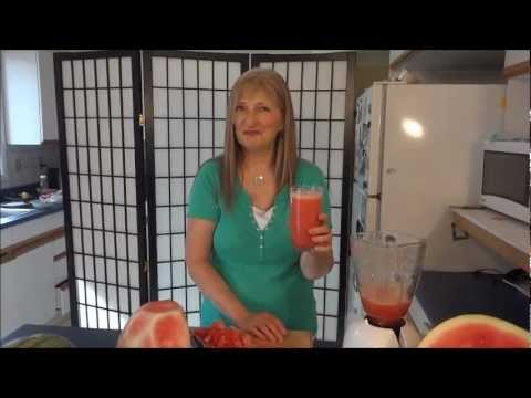 How to Make Watermelon Juice