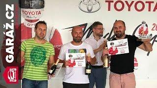 Toyota Media Cup 2018 - GARÁŽ.cz - Rejloš je nejrychlejší český novinář