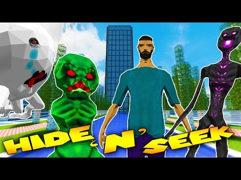 Minecraft - MORPH MOD HIDE AND SEEK - Realistic Minecraft ( Modded Minigame)