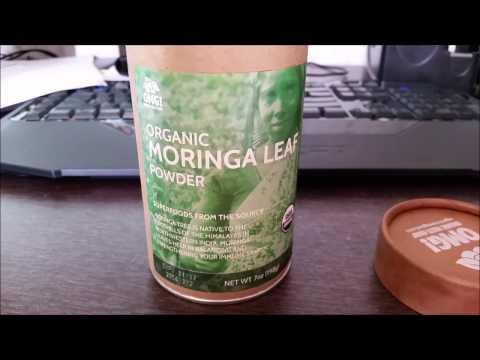 OMG Moringa powder review