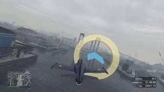 Grand Theft Auto V footage of plane stunts