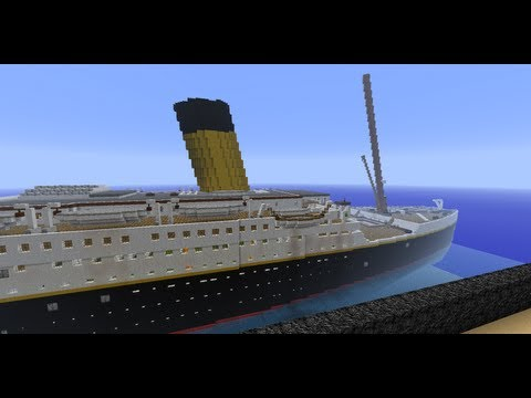 Minecraft - The RMS Titanic - 2nd Version, Update #1 (Abandoned, see description)