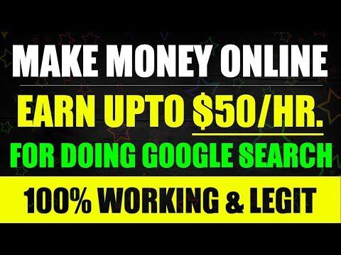 Make Money Online - Earn $50/Hr. For Just Using Google Search. 100% Legit Job from LEAPFORCE