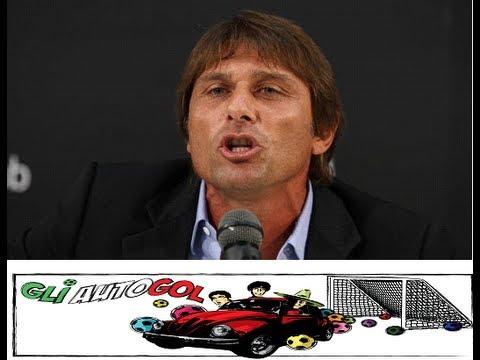 Imitazione Parodia Antonio Conte - Chi ha esultato? Sfuriata ai giornalisti