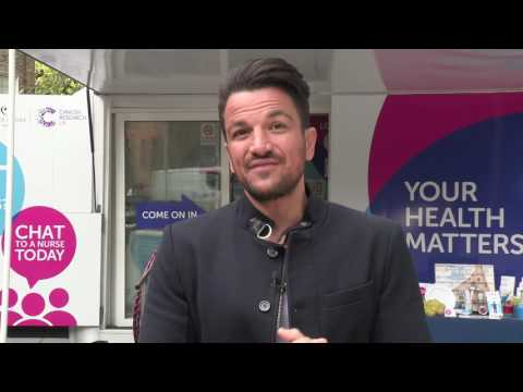 How is the Peter Andre Fund helping to beat cancer right now?