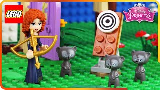 ♥ LEGO Disney Princess Merida The Brave Training Day STOP MOTION (Episode 1)