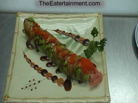 SUSHI CATERPILLAR ROLL  Please Visit  www.TheEatertainment.com