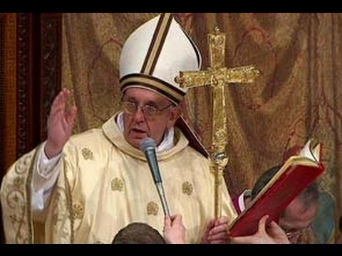 Vatican : False Prophet Pope Francis removes anti gay Cardinal from Highest Court (Dec 20, 2013)
