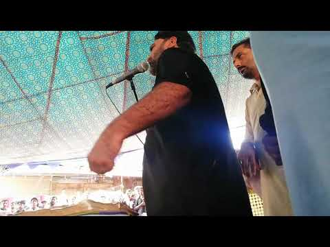 Zakir Syed Babar Ali Zaigham Majlis 10 Muharram Burywala Markzi Imambargah