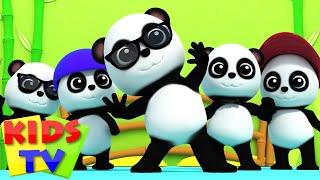 Bao Panda   Five Little Pandas   3D Nursery Rhymes From Kids Tv   Baby Bao Panda