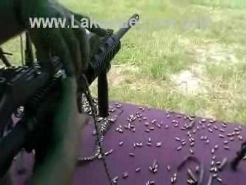 Razorback M16 Conversion 22LR beltfed by Lakeside Machine Full Auto