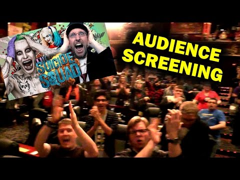 Audience Screening - Nostalgia Critic Review of Suicide Squad