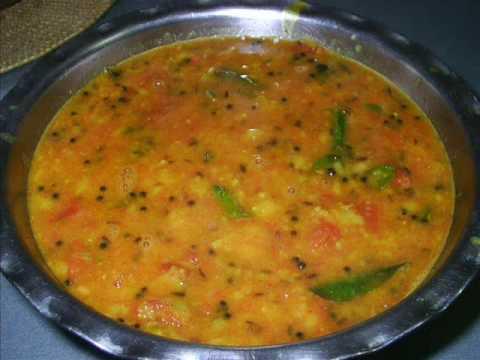 Tomato Pappu - Tomato Dal (Lentils) - Indian Andhra Telugu Recipes