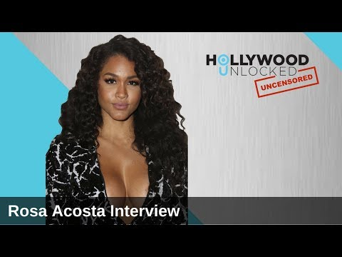 Rosa Acosta Demonstrates How Balls Move on Hollywood Unlocked [UNCENSORED]