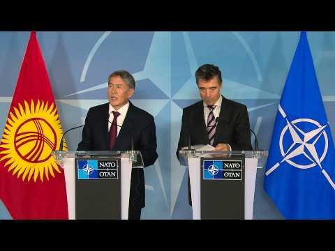 NATO Secretary General and President of Kyrgyz Republic - Joint Press Point, 17 September 2013