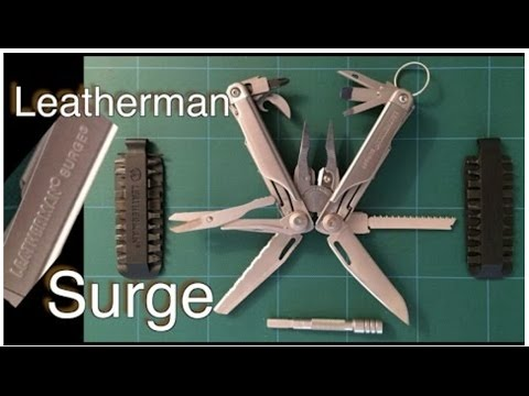 Leatherman Surge Multi-tool 21 Functions: Review