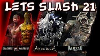 Let's Slash 021 - Kreativität und Schnetzeln [deutsch] [720p]