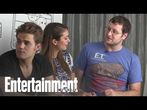 Comic-con 2014: 'vampire Diaries' Castmembers Say What They'd Wait In Long Comic-con Lines For video