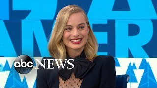 Margot Robbie stole her 90s hair scrunchies from the
