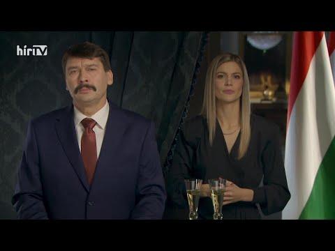 Áder János újévi köszöntője (2020-01-01) - HÍR TV