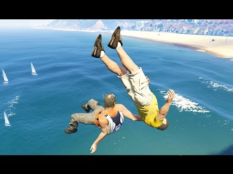GTA 5 CRAZY Life Compilation #10 (GTA V Fails Funny Moments)