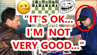 Famous Grandmaster Pretends To Be A Beginner! (The Ultimate Hustle!!!)