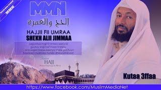Shekh Alii Jimmaa, Hajjii fii Umraa Kutaa 3ffaa (Oromo Dawa)