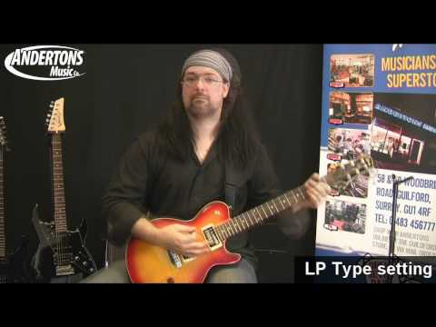 James Tyler Variax JTV-59 Guitar Demo and Overview - Part 3
