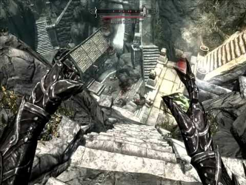 Funny Skyrim glitches and bugs compilation, and just messing about.