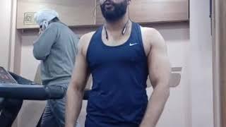 Biceps Triceps Flexing ! Natural Bodybuilding